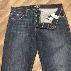 Lucky Brand 221  Button Fly Men's Jean 32/30